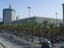 Rey Fahad National Library en Riad fotos de archivo