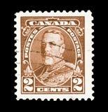 Rey George V Imagen de archivo