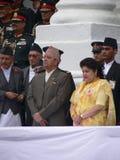 Rey Gyanendra Nepal 2005 Foto de archivo libre de regalías