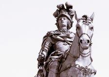 Rey On Horseback Imágenes de archivo libres de regalías