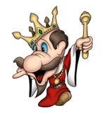 Rey importado ausente stock de ilustración