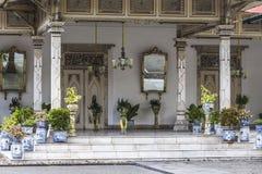Rey interior Palace Yogyakarta imágenes de archivo libres de regalías