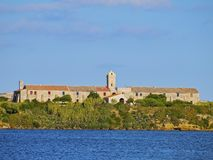 Rey Island dans Mahon sur Minorca Images stock