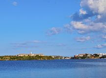 Rey Island in Mahon on Minorca Stock Photography