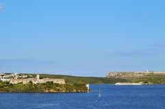 Rey Island in Mahon on Minorca Stock Photo