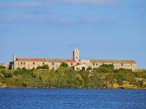 Rey Island in Mahon op Minorca Stock Afbeeldingen