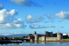 Rey Johns Castle Limerick Irlanda Foto de archivo libre de regalías