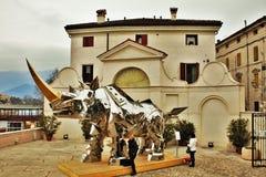 Rey Kong Rhino fotos de archivo libres de regalías