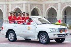 Rey malasio Birthday Parade Celebrations 2011 Fotos de archivo