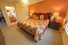 Rey Master Bedroom fotografía de archivo