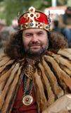 Rey medieval Fotografía de archivo libre de regalías