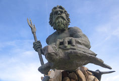 Rey Neptuno imagen de archivo libre de regalías