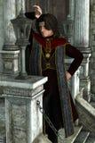 Rey oscuro Fotos de archivo