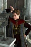 Rey oscuro Foto de archivo libre de regalías