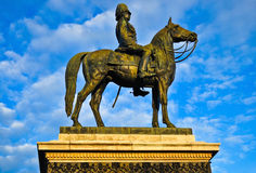 Rey Rama V Monument Imagen de archivo