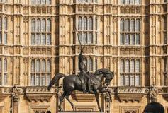 Rey Richard el Lionheart Imagen de archivo libre de regalías