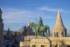 Rey Saint Stephen fotografía de archivo libre de regalías