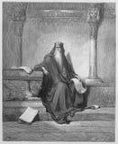 Rey Solomon Imágenes de archivo libres de regalías