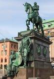 Rey sueco Fotografía de archivo libre de regalías