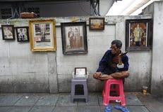 Rey tailandés Death Fotografía de archivo