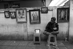 Rey tailandés Death Imagen de archivo