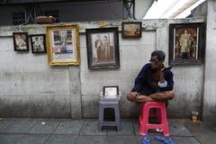 Rey tailandés Death Imágenes de archivo libres de regalías