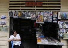 Rey tailandés Death Imagen de archivo libre de regalías