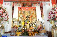 Rey Taksin Statue Fotos de archivo libres de regalías