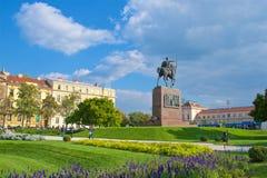 Rey Tomislav Square en el parque en Zagreb, Croacia Imagen de archivo