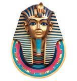 Rey Tutankhamun Imagen de archivo libre de regalías