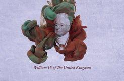 Rey William IV del Reino Unido ilustración del vector