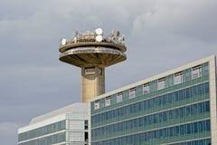 Reyers-telecomunications ragen und Bürogebäude in Brüssel, Belgien hoch Stockfoto