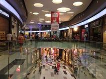 Reyes Avenue Mall en la ciudad de Paphos, Cypus Fotografía de archivo