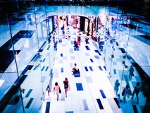 Reyes Avenue Mall Interior Paphos, Chipre Foto de archivo