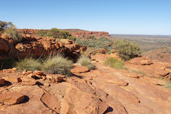Reyes Canyon, Australia Foto de archivo libre de regalías