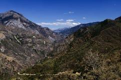 Reyes Canyon Diamond Peak Foto de archivo libre de regalías