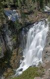 Reyes Canyon Falls en el parque nacional de Lassen Fotos de archivo libres de regalías