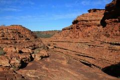 Reyes Canyon, parque nacional de Watarrka, Australia Fotografía de archivo