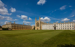 Reyes College, Cambridge Foto de archivo
