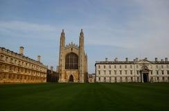 Reyes College Chapel, Cambridge, Reino Unido Imagen de archivo