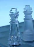 Reyes del ajedrez Imagen de archivo libre de regalías