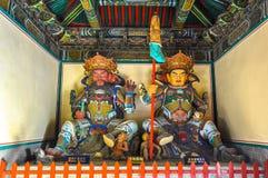 Reyes divinos en el budismo - occidental y septentrional imagen de archivo libre de regalías