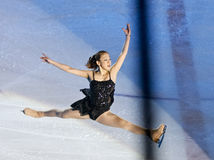Reyes en la demostración de hielo Bucarest 2012 Fotografía de archivo libre de regalías