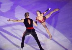 Reyes en la demostración de hielo Bucarest 2012 Imagen de archivo