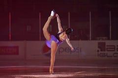 Reyes en la demostración de hielo Bucarest 2012 Foto de archivo