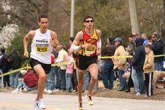 Reyes en Rizzo rennen elkaar Royalty-vrije Stock Foto