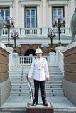 Reyes Guard en Royal Palace magnífico Fotografía de archivo
