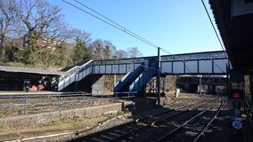 Reyes Norton Train Station en madrugada Imagen de archivo libre de regalías