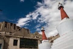 Reyes Palace en Leh Foto de archivo