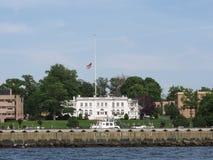 Reyes Point Merchant Marine Academy Fotografía de archivo libre de regalías